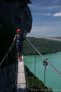 via ferrata moirans en montagne stage perfectionnement jura ain bugey le regardoir