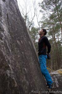 Varappe Escalade Bleau Fontainebleau Bouldering Bloc Stage Voyage