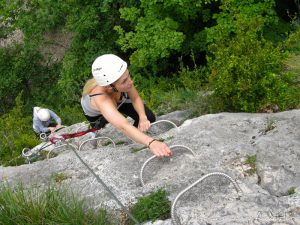 via ferrata jura pays de gex stage perfectionement fort ecluse jura ain bugey